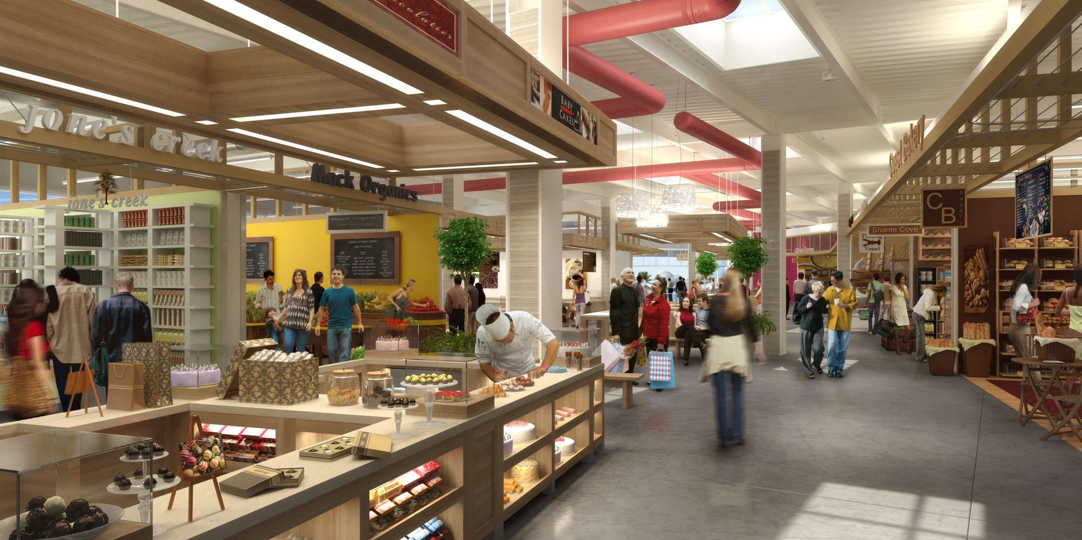The Market - Santa Monica Place